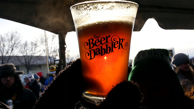 Minnesota Beer Dabbler Glass