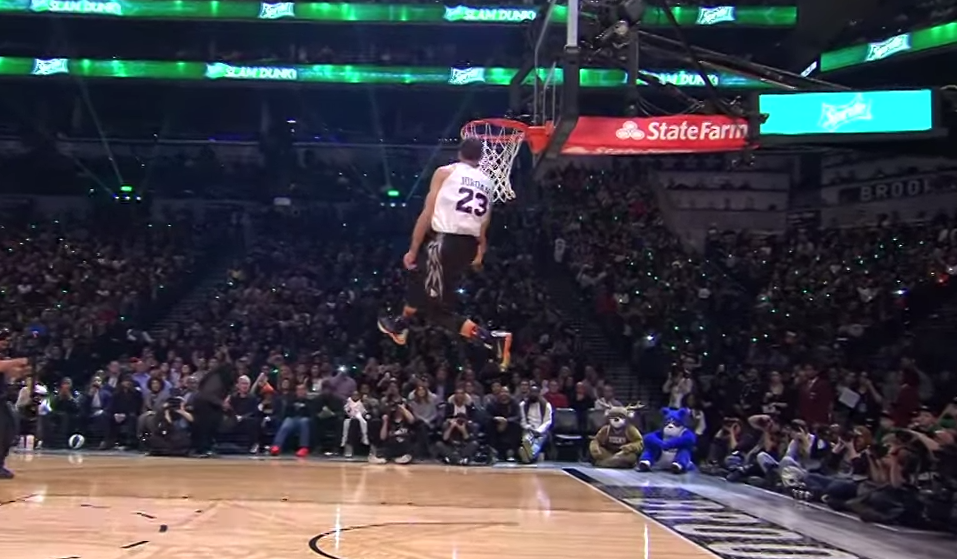zach lavine - dunk contest 2015
