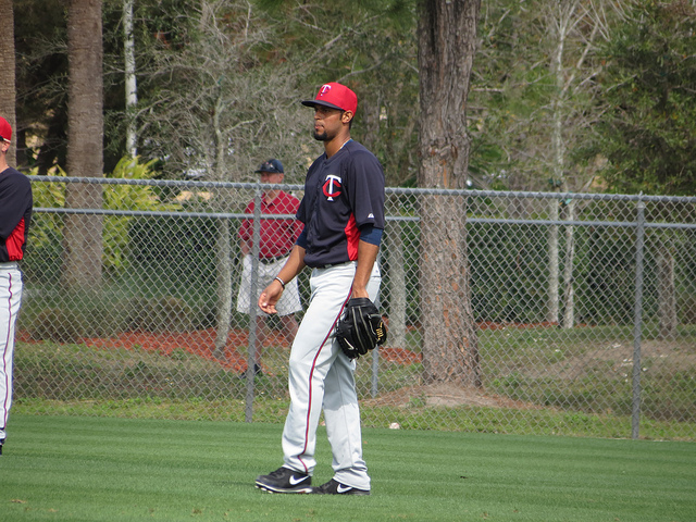 aaron hicks - mn twins