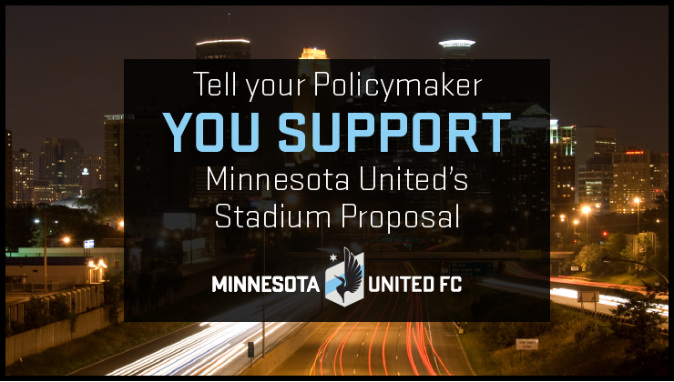 stadium support Minnesota United
