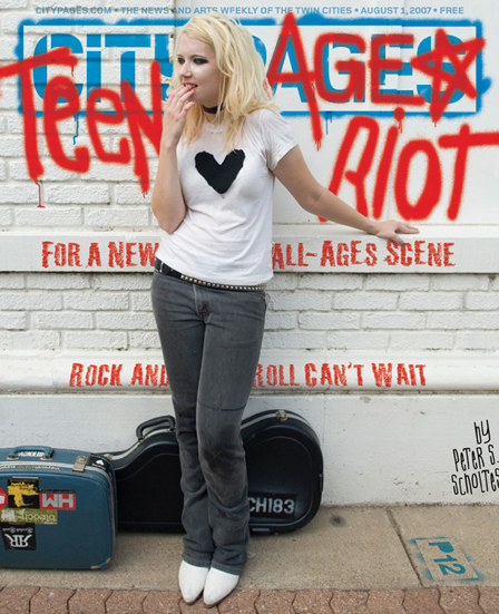 Teenage Riot City Pages