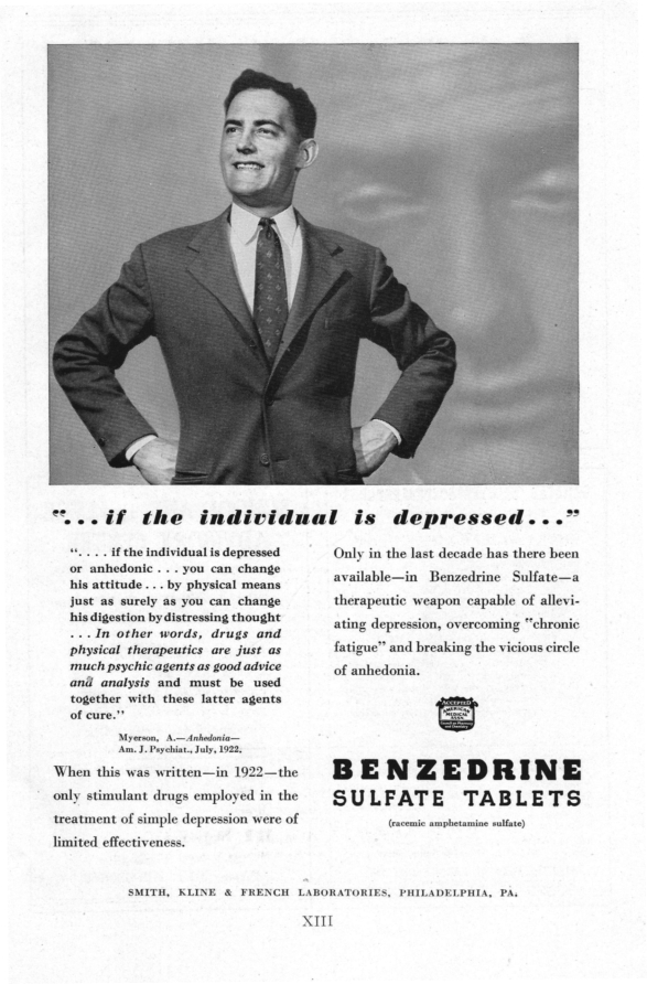 Calif Western Medicine 1962 Benzedrine Photo