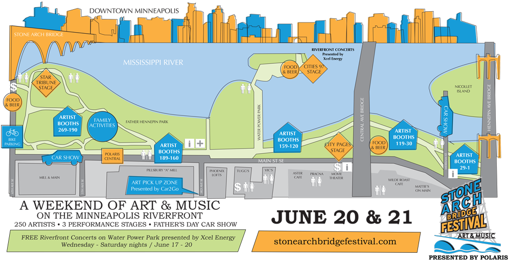 Stone Arch Map