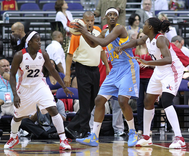 Chicago Sky at Washington Mystics June 11,  2011