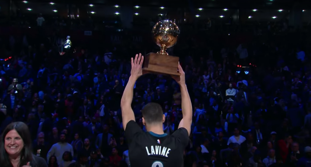 zach lavine - slam dunk champ -2016