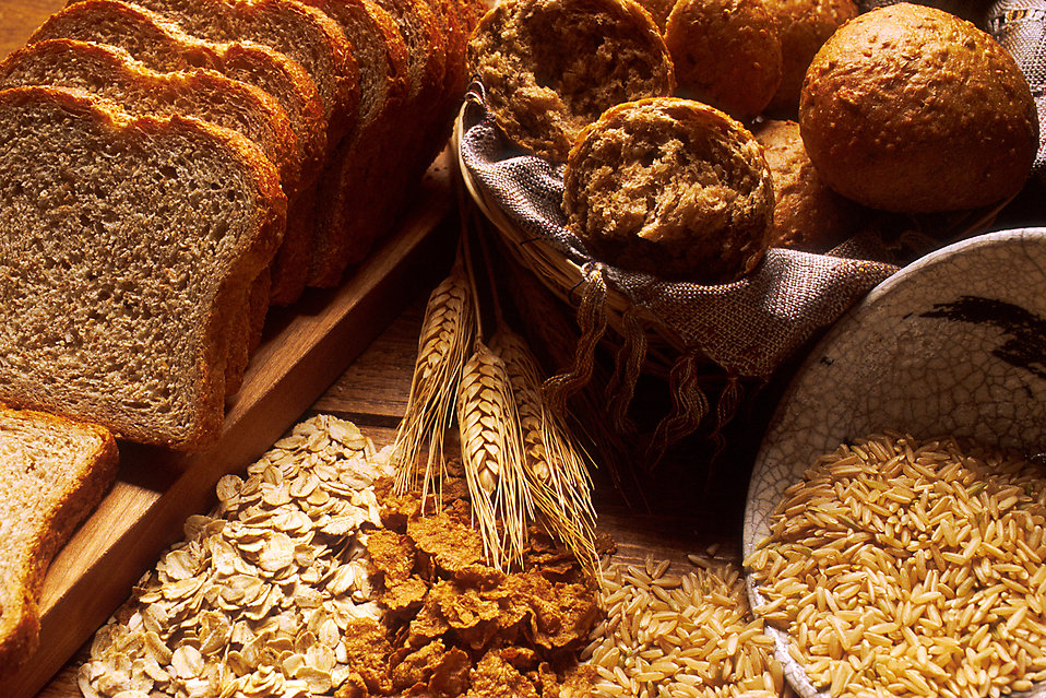 whole grains- healthy diet - carbohydrates
