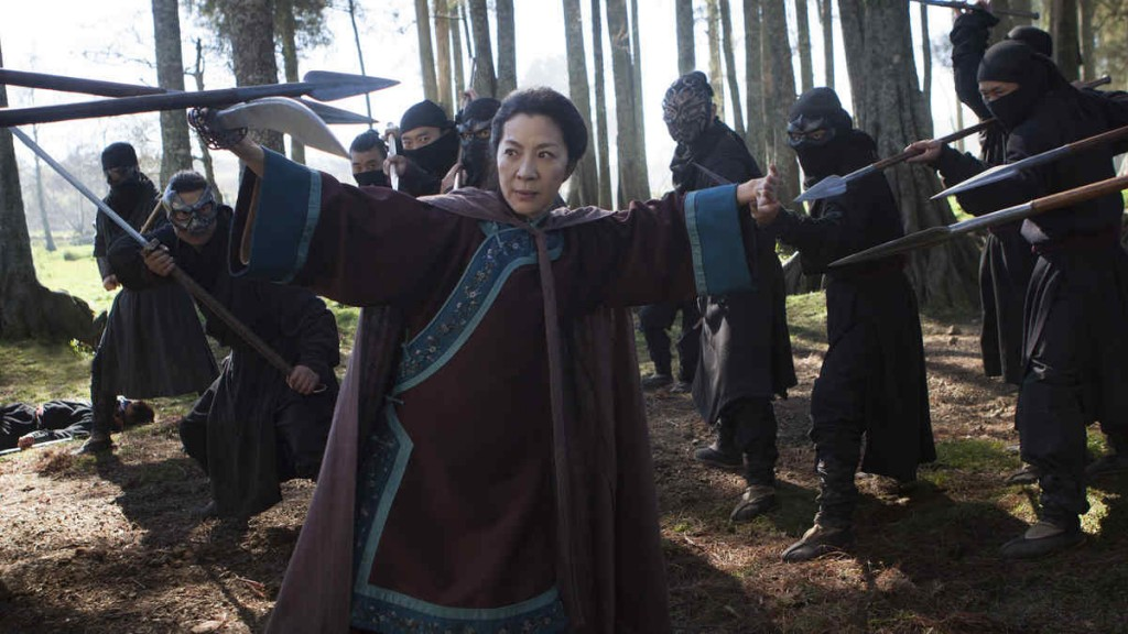 movie review - crouching tiger