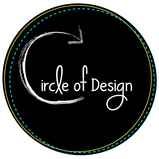 circle of design logo