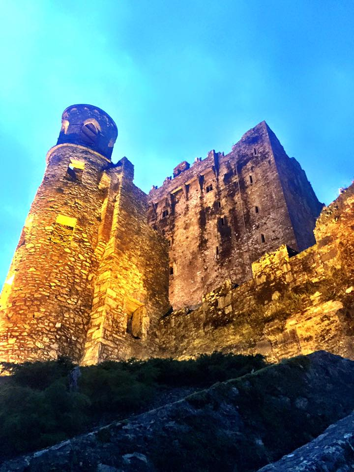 blarney castle at night