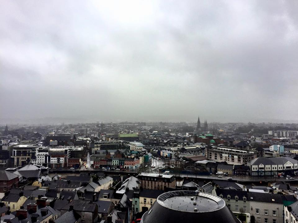 view of Cork from Shandon Tower