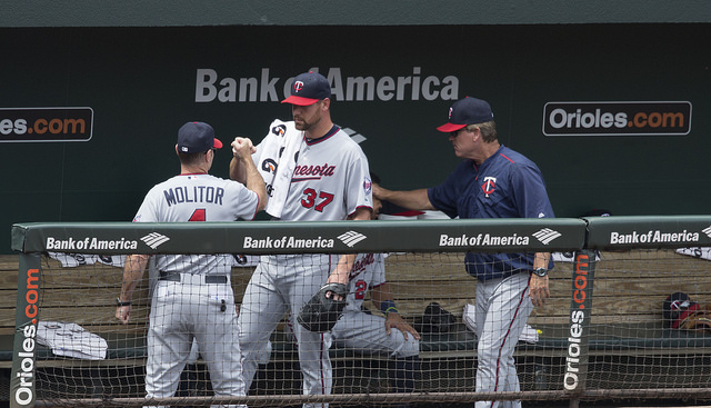 2016 minnesota twins - losing streak - 10 losses - al central - molitor