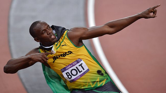 usain bolt - worlds fastest man