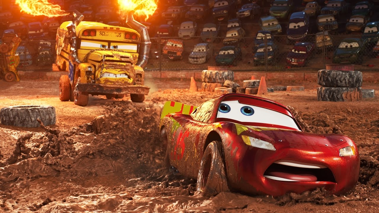 Place finish for Cars 3 over Wonder Woman