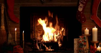 Move Over Big Bang Theory. The Yule Log Program Is Roaring Back for Its 15th Year