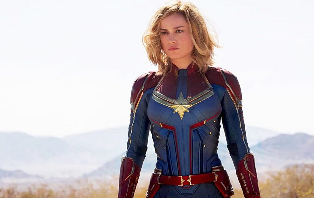 Nia Jax Challenges 'Captain Marvel' Star Brie Larson to Match in WWE