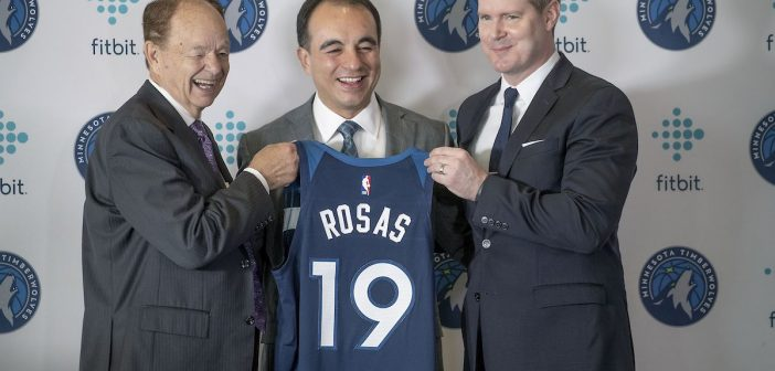 Timberwolves President Rosas Stalks Number One Pick and Salary Cap Vengeance